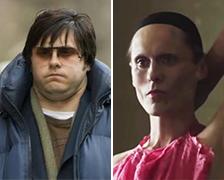 5 nejšílenějších tělesných proměn herců